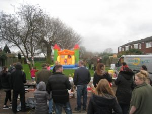 Vauxhall Easter bouncy castle (small)